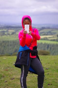 Looking at me looking at you, Dartmoor