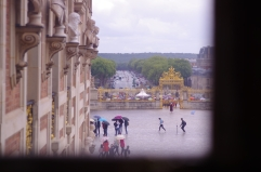 Through the window at Le Louvre