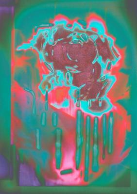 Rose in vase ii