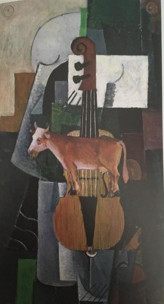 Malevich cow&violin